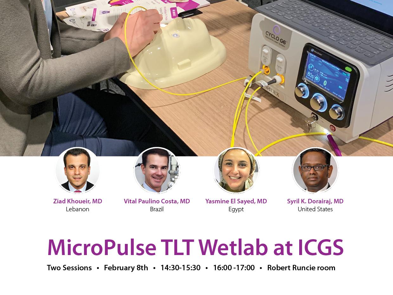 MicroPulse Wetlab at ICGS 2020