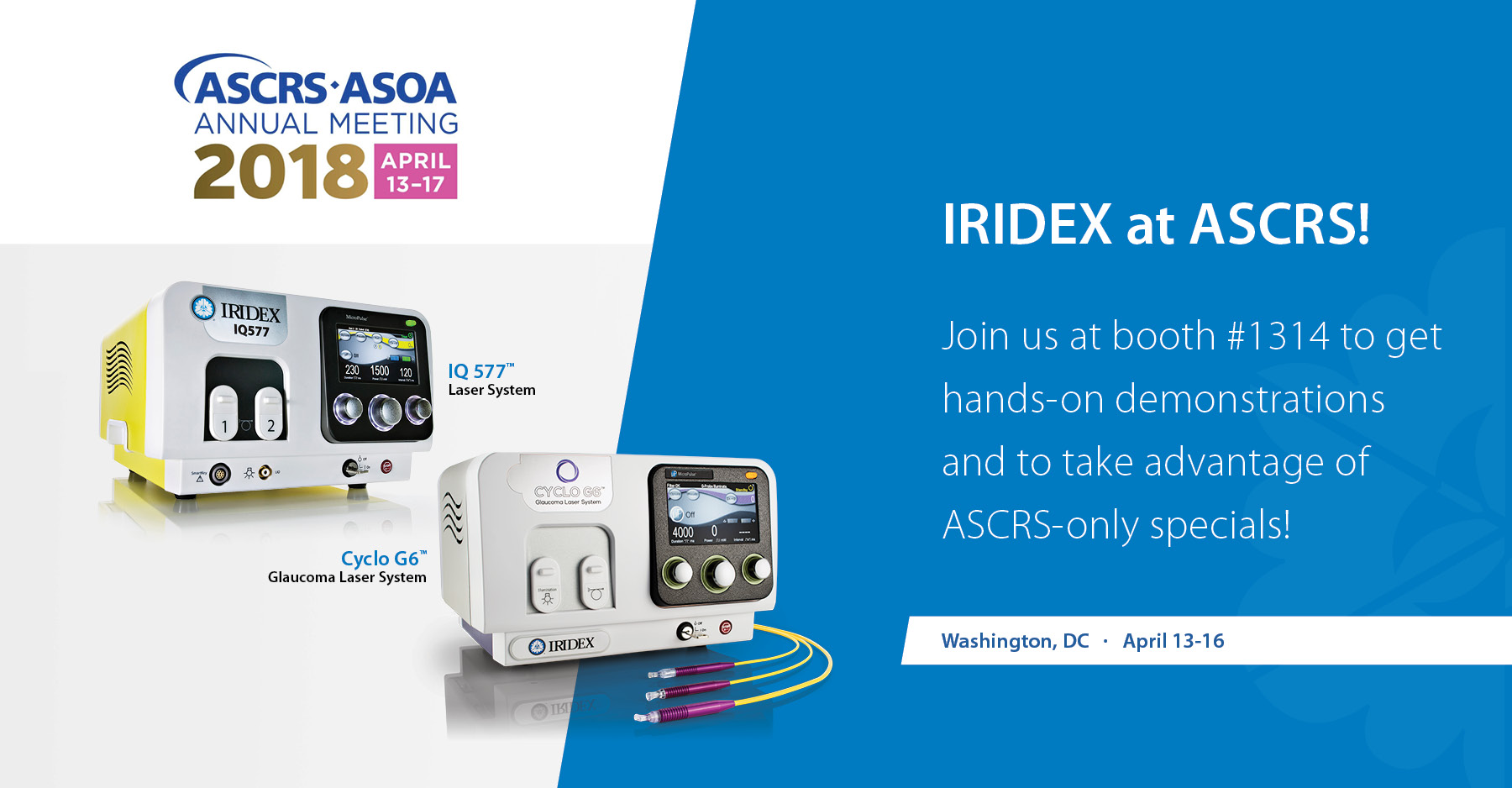 IRIDEX at ASCRS