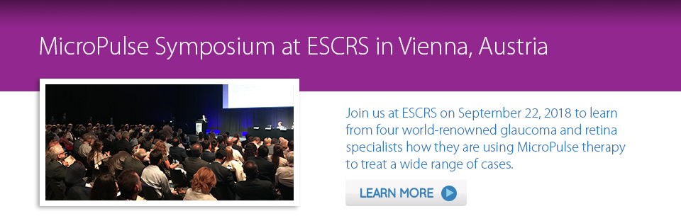 MicroPulse Symposium at ESCRS 2018