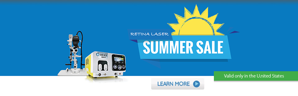 IRIDEX US Retina Laser Summer Sale
